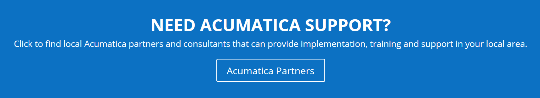 Acumatica Partners Banner