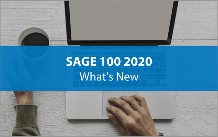 Introducing Sage 100 2020